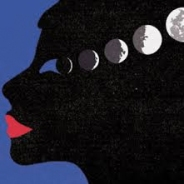 Woman like the moon